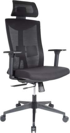 Компьютерное кресло College CLG-428 MBN-A/Спинка сетка черная / сиденье ткань черная