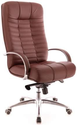 Компьютерное кресло Atlant AL M/Экокожа коричневая