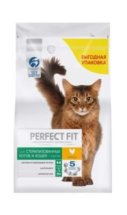 Сухой корм для кошек Perfect Fit Sterile, для стерилизованных, курица, 2,5кг