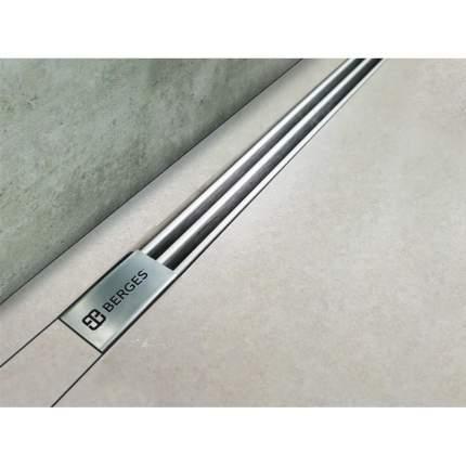 Душевой лоток Berges Wasserhaus Super Slim 500 боковой выпуск цвет хром глянец (09 11 78)