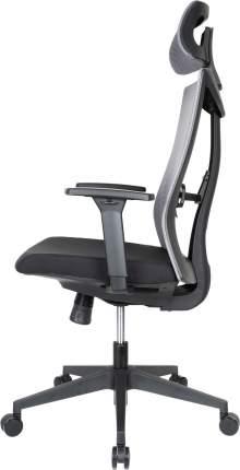 Компьютерное кресло College CLG-429 MBN-A/Спинка сетка серая / сиденье ткань черная