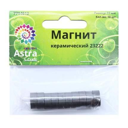 Магнит Астра 23222, 10х11 мм