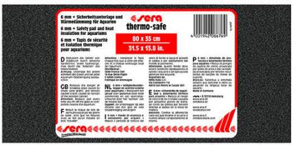 Коврик под аквариум Sera THERMOSAFE Safety Pad and Heat Insulation, 6мм, 80x35см