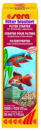 Кондиционер для аквариума Sera Filter Biostart 50мл