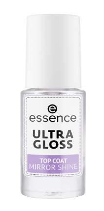 Ультраглянцевое верхнее покрытие для ногтей essence ultra gloss mirror shine
