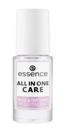 """Базовое и верхнее ухаживающее покрытие essence """"всё в одном"""" all in one care multitalent"""
