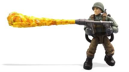 Конструктор Mega Construx Call of Duty Specialist WWII Flamethrower, 23 детали
