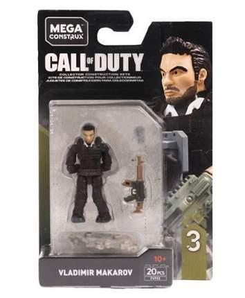 Конструктор Mega Construx Call of Duty Specialist Makarov, 20 деталей