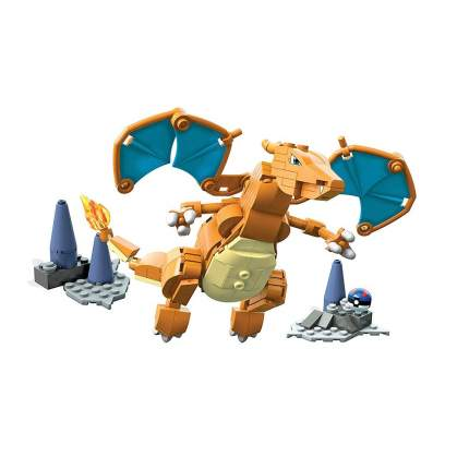 Конструктор Mega Construx Pokemon Charizard, 198 деталей