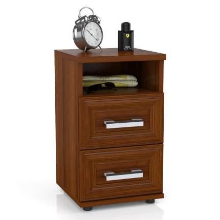 Тумба прикроватная приставная Мебельный Двор МД 5646012 34х34х59 см, орех