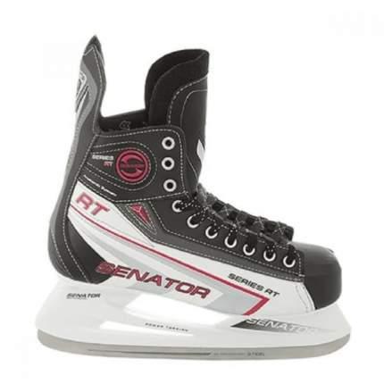 Хоккейные коньки SENATOR RT (черный), Черный (36)