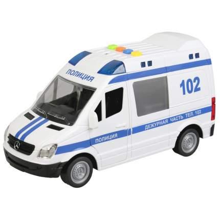 Машина инерционная Технопарк Mercedes-Benz Sprinter Полиция, 22 см