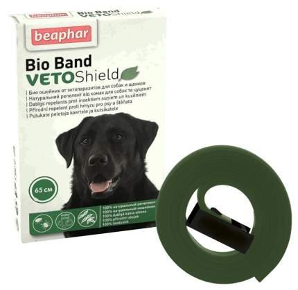 Ошейник для собак против блох, клещей, комаров Beaphar VETO Shield Bio Band зеленый, 65 см