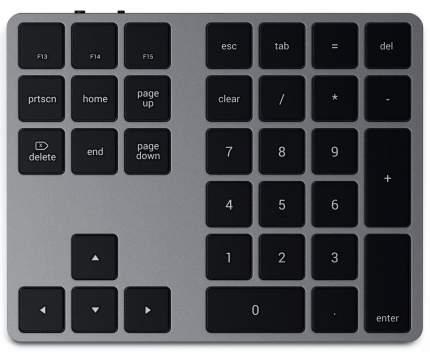 Беспроводная клавиатура Satechi Extended Keypad Grey (ST-XLABKM)