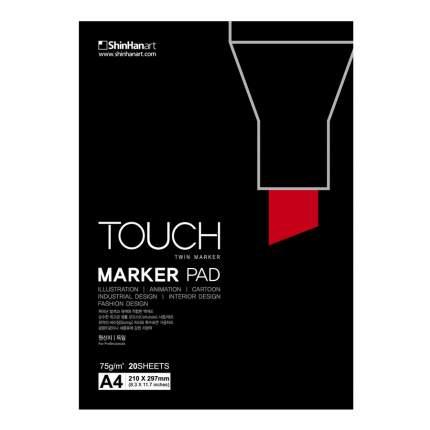 "Альбом для маркеров Touch Twin ""Marker Pad"" А4 20 л"