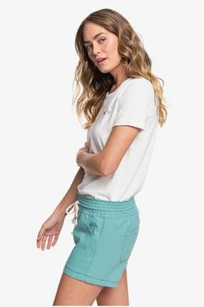 Женские пляжные шорты Little Kiss Roxy, голубой, M
