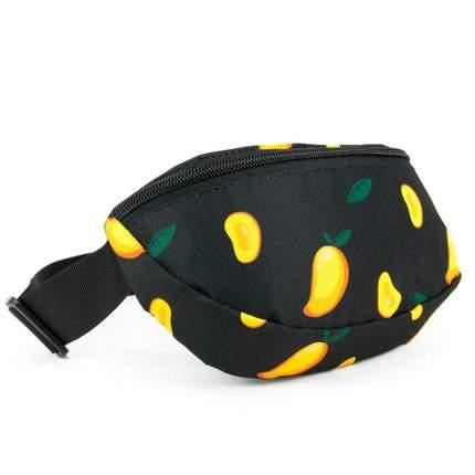 Поясная сумка унисекс Tallas tbb-p0020 желтая/черная