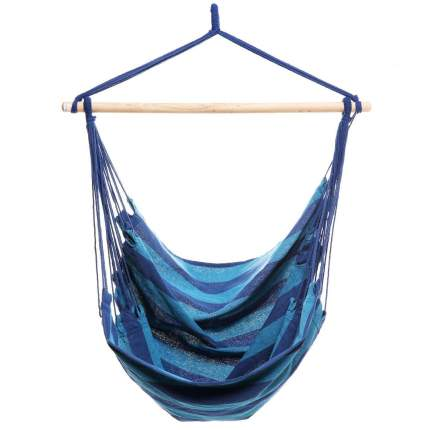 Гамак Kamukamu 729987 радужный синий 130 х 100 см