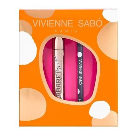 Подарочный набор Vivienne Sabo Тушь Cabaret premiere тон01 Карандаш для глаз Merci тон301