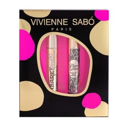 Подарочный набор Vivienne Sabo Тушь Cabaret premiere тон 01 Тушь Femme Fatale тон 01