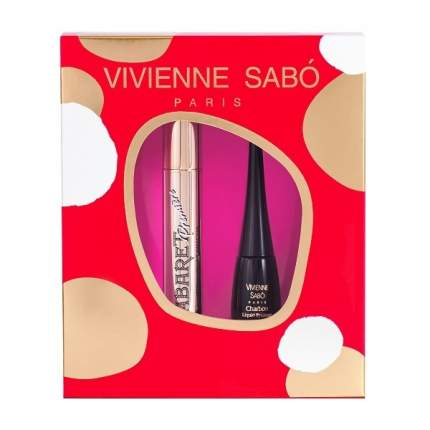 Подарочный набор Vivienne Sabo Тушь Cabaret premiere тон 01 подводка Charbon тон 1
