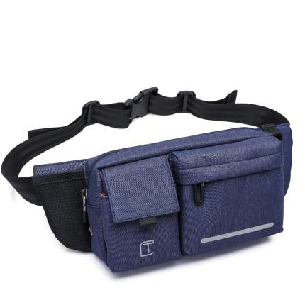 Поясная сумка мужская TANGCOOL TC906 синяя