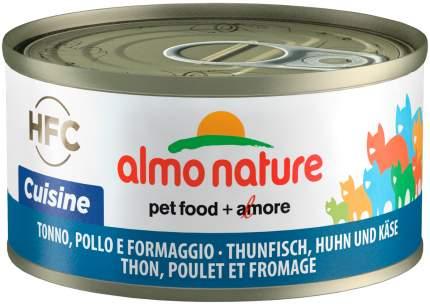 Консервы для кошек Almo Nature HFC Legend, с тунцом, курицей и сыром, 24шт по 70г