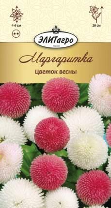 Семена цветов Элитагро Маргаритка Цветок весны смесь двулетник 0,05 г,