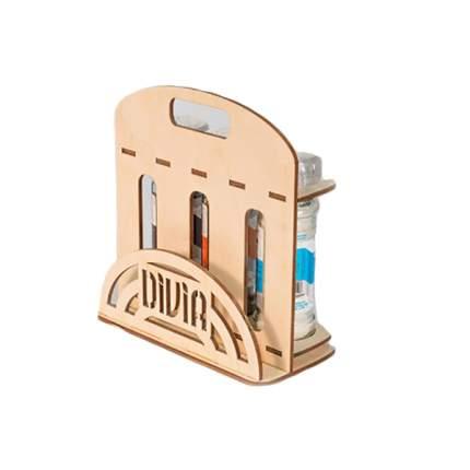 Набор №14 Divia collection соль морская ароматная-перцы люкс-деревянная стойка