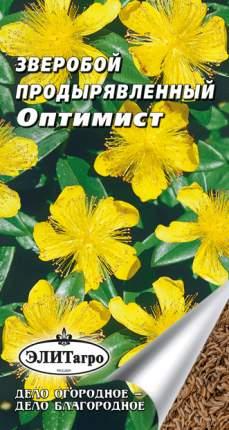 Семена лекарственных трав Элитагро Зверобой продырявленный Оптимист 0,1 г