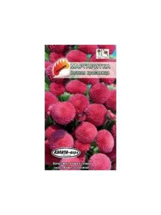 Семена цветов Элитагро Маргаритка Вечная красавица розовая двулетник 0,05 г