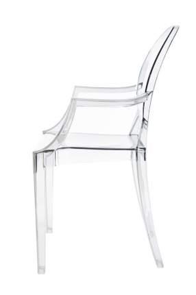 Стул Bradex Home Louis Ghost прозрачный серый /FR 0037