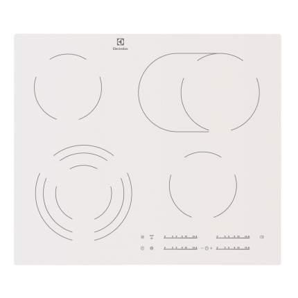 Встраиваемая варочная панель электрическая Electrolux EHF96547SW White