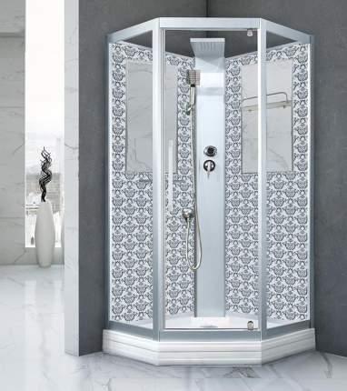Душевая кабина Niagara Lux NG-7799WBK 90х90 см серебро