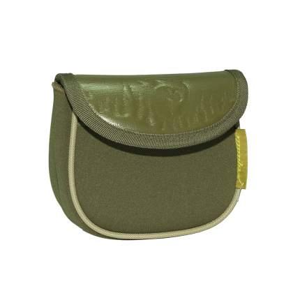 Чехол для катушек Aquatic Ч-20 16 x 14 x 3 см, зеленый