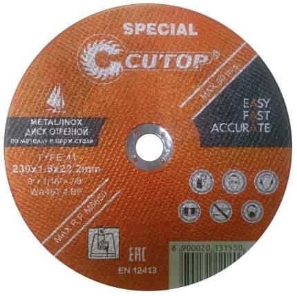 Диск отрезной специальный по металлу и стали Cutop Profi Plus Special 50-411