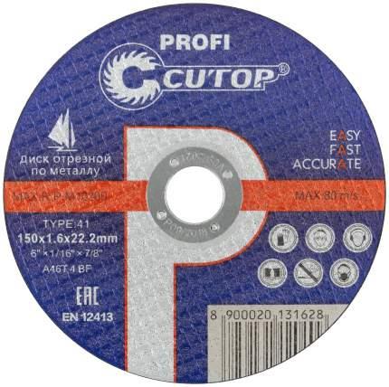 Диск отрезной по металлу Cutop Profi 40012т