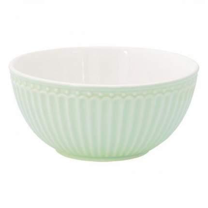 Пиала Greengate Alice pale green 14 см STWCERAALI3906