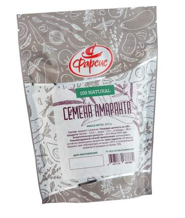 Семена амаранта очищенные Фарсис 300 г