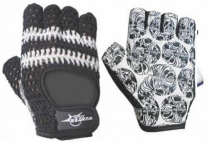 Перчатки для фитнеса и атлетики Hunter Sports HSF-2031, серые, M