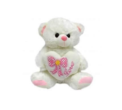 """Мягкая игрушка """"Пушистый друг. Медвежонок с сердечком"""", 30 см"""