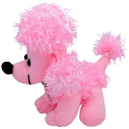 """Мягкая игрушка """"Собака пудель"""", 20 см (розовый)"""