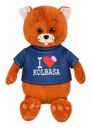 """Мягкая игрушка """"Колбаскин Фанат Колбасы"""", 20 см Колбаскин&Мышель"""