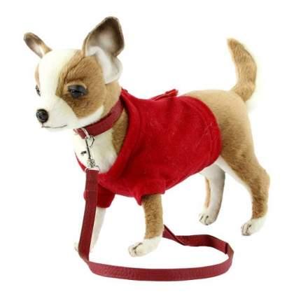 """Мягкая игрушка """"Чихуахуа в красной футболке"""", 24 см"""