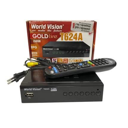 DVB-T2 приставка World Vision T624A Black