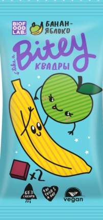 Квадры Bitey яблоко-банан 30 г