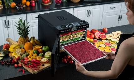 Сушилка для овощей и фруктов RAWMID Dream Modern RMD-07 Black