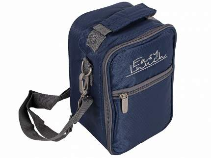 CW Набор для пикника CW Easy Lunch на 1 персону синий сумка-термоc с набором посуды SL-001