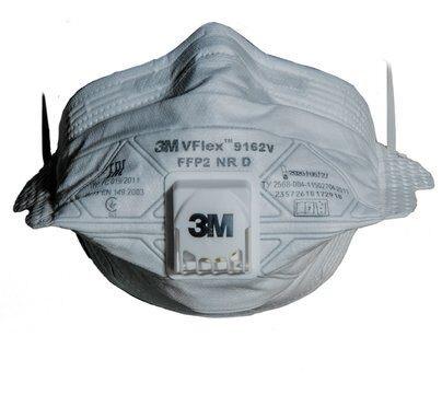 Полумаска Противоаэрозольная Фильтрующая 3M VFlex 9162V
