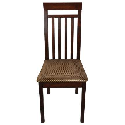 Стул Мебель 24 Гольф, орех/атина коричневая